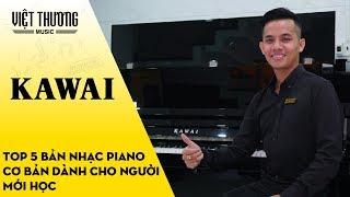 Top 5 bản nhạc piano cơ bản dành cho người mới học
