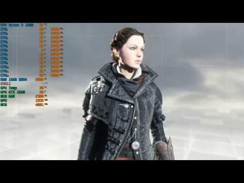 Assassin's Creed Syndicate - GTX 1660 - Ryzen 5 1600 - 16GB RAM - 1080p |