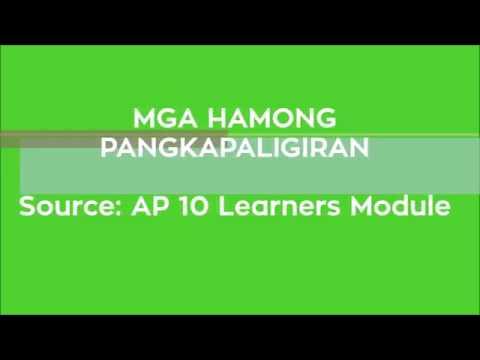 Mga Hamong Pangkapaligiran sa Pilipinas