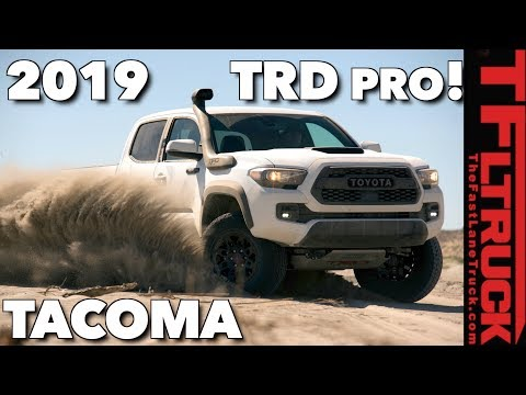 Breaking News: 2019 Toyota Tacoma TRD Pro, 4Runner, and Tundra: Everything There is to Know