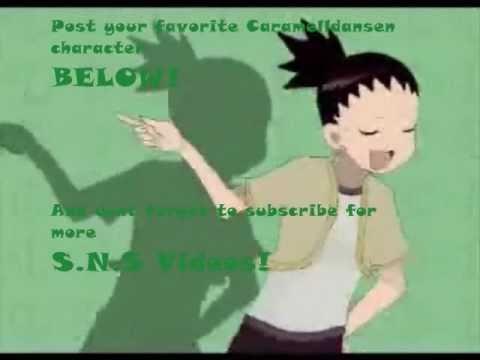 Naruto Caramelldansen