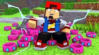 Minecraft: BUGOU ANEIS DO PODER - POKEMON #22 ‹ EduKof Games ›