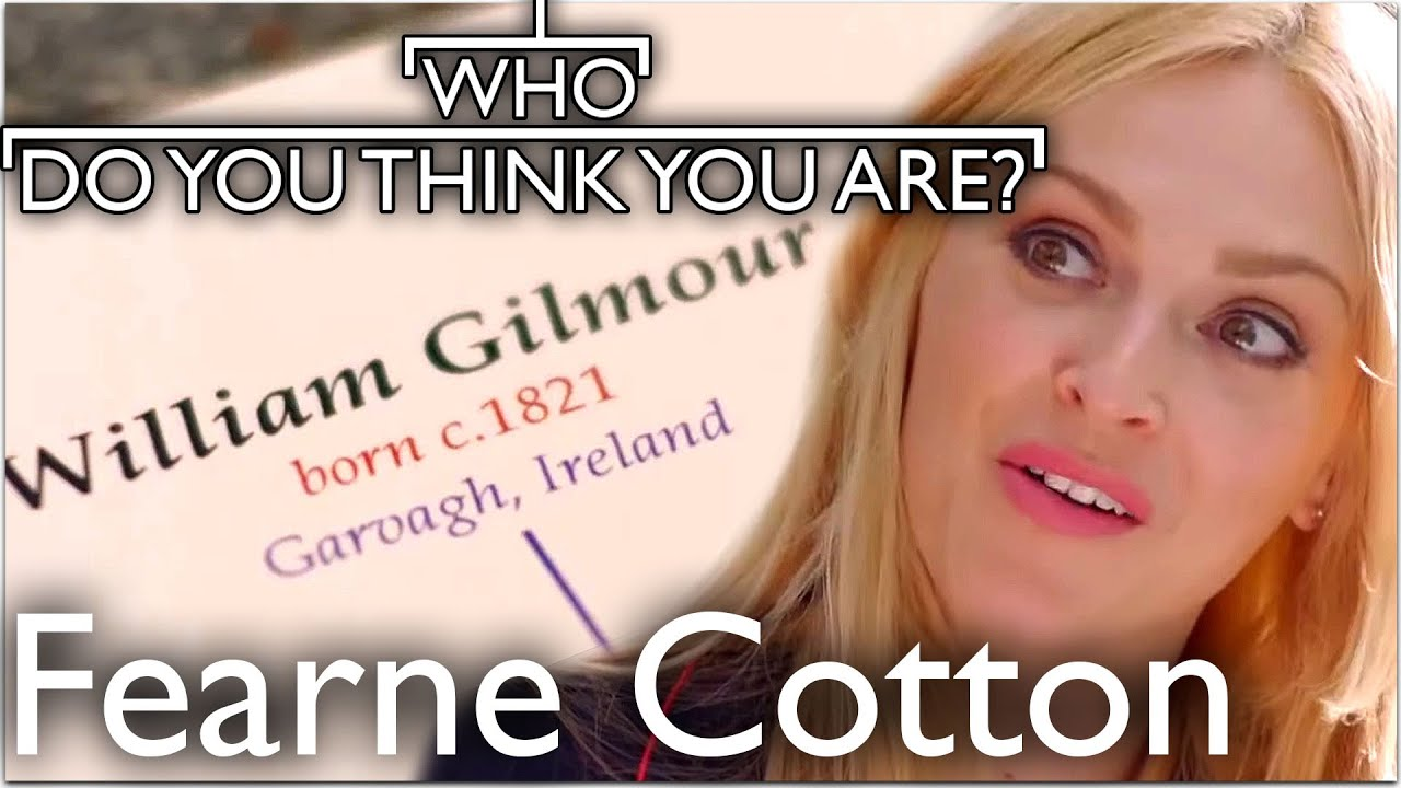 Fearne Cotton Surprised By Irish Roots | Who Do You Think You Are
