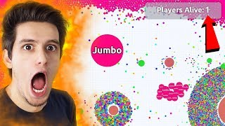 I joined an empty AGAR.IO Server ?!!