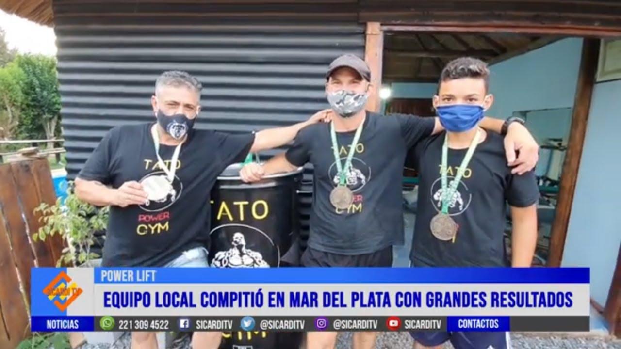 Atletas de Sicardi cosecharon medallas en Mar del Plata