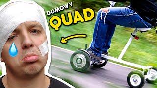 ELEKTROWOZIK z hoverboarda - DIY, TEST i POŁAMANY KLAMER!