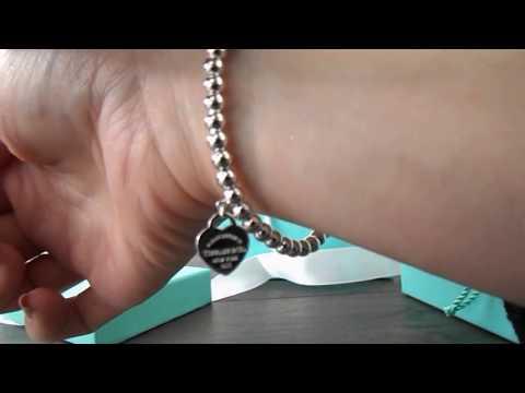 Return to Tiffany bracelet unboxing