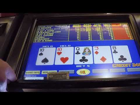 Video Poker: 'NSU' Deuces Wild 0607
