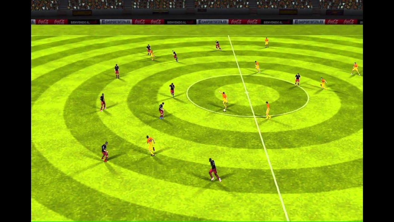 FIFA 13 iPhone/iPad - FC Barcelona vs. Athletic Bilbao ...