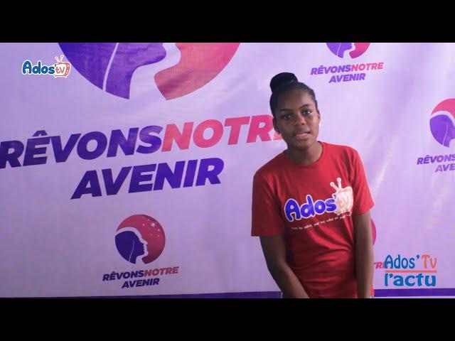 Reportage de la télévision togolaise -  Lancement Concours  REVONS NOTRE AVENIR