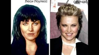 """Как изменились актеры сериалов """"Зена"""" и """"Геракл""""."""