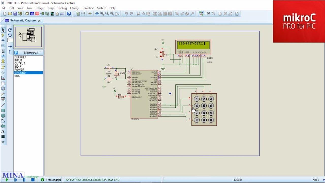 keypad interfacing with microcontroller use keypad library