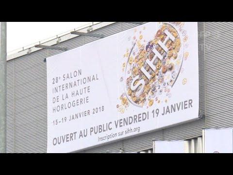 Salon de l'horlogerie de Genève: la Chine, marché essentiel