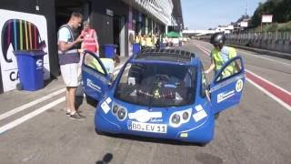 iLUMEN European Solar Challenge 24 hours of Zolder Part 1