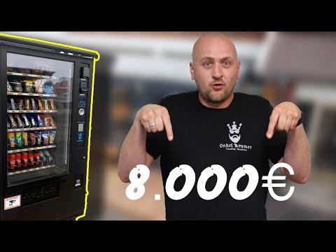 ✅ 8000€ mit einem Snackautomaten Container Standort im Monat ?