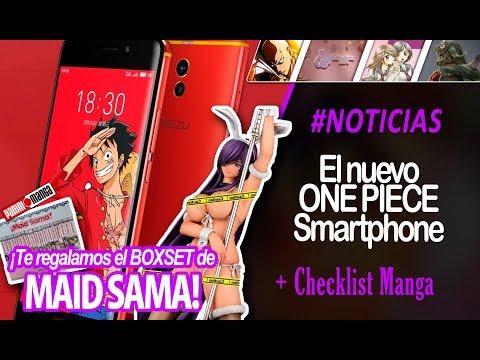 EL NUEVO ONE PIECE SMARTPHONE | RESUMEN DE NOTICIAS MANGA MEXICO