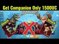 How to get king kong and godzilla companion only 1500 uc how to get pubg companion mp3