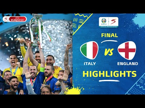 Download UEFA Euro 2020   Final   Italy v England   Highlights