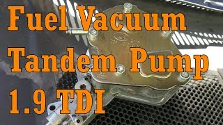 VW Passat B5 Diesel 1.9 TDI AVF Fuel Vacuum Tandem Pump .Engine wouldn't start Volkswagen