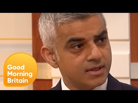 Sadiq Khan Reacts to Donald Trump