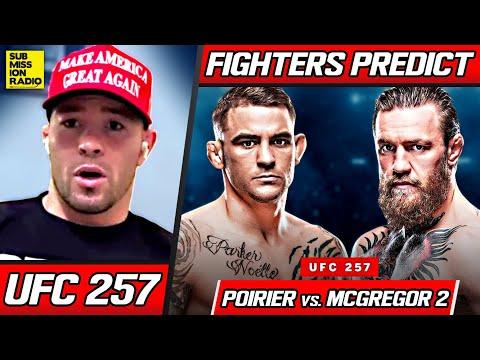 FIGHTERS PREDICT: Conor McGregor vs. Dustin Poirier 2 | UFC 257
