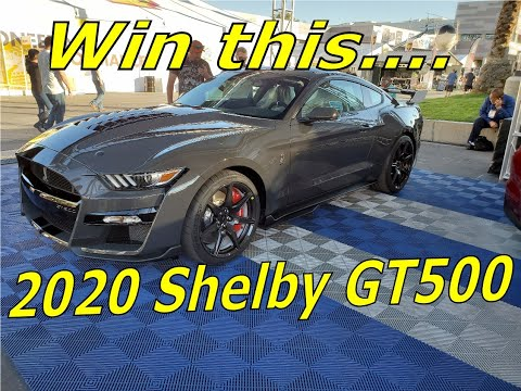 Win a 2020 Shelby GT500 Mustang JDRF raffle 11-14-19 SEMA show 2019 tickets are only 10 bucks!