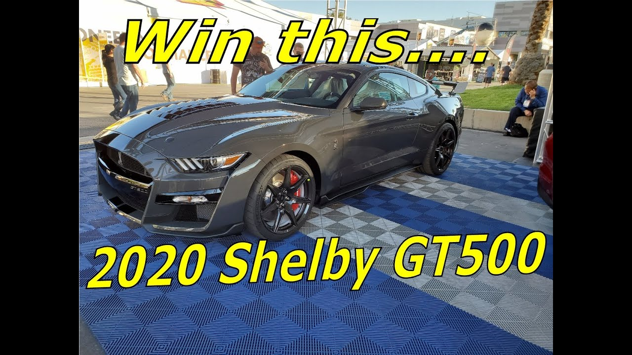 Sema Show 2020.Win A 2020 Shelby Gt500 Mustang Jdrf Raffle 11 14 19 Sema Show 2019 Tickets Are Only 10 Bucks