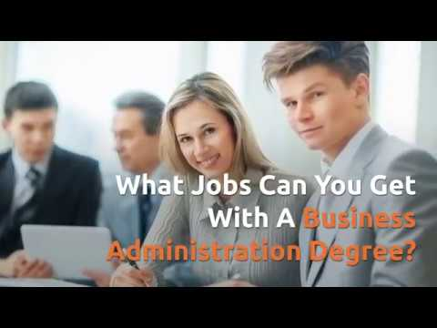 Career Opportunities For Business Administration Graduate