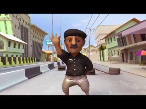 Teaser for 'Gidi Run' (Game Made by Nigerians about Lagos)
