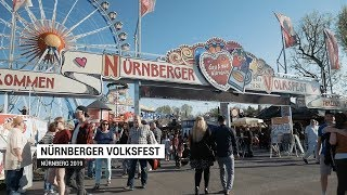 Nurnberger Volkfest 2019 - travel video