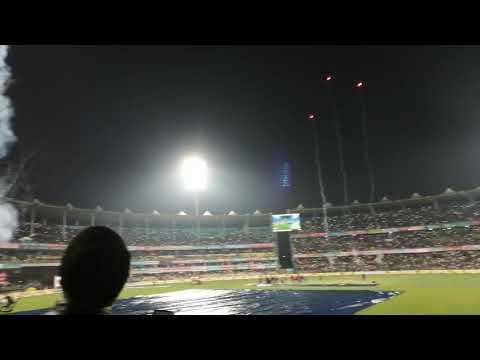 Guwahati crowd singing Vande Mataram at cricket stadium