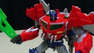 Transformers Prime Beast Hunters Voyager OPTIMUS PRIME: EmGo