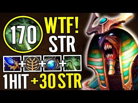 Abed Undying Carry Strength FARMER BUILD So IMBA Undie Game Dota 2