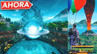 *NEW* BALSA BOTIN FINAL EVENT, VOLCAN EXPLODES NOW LIVE FROM FORTNITE!!