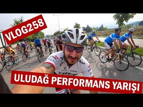 Uludağ'a Bisiklet Ile Tırmandık. Uludağ Performans Yarışı 2017 | Asla Durma Vlog258
