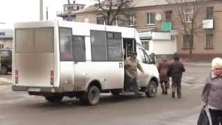Произвол с тарифами в маршрутках Лисичанска