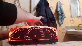 Меняем подсветку приборов Opel vectra B
