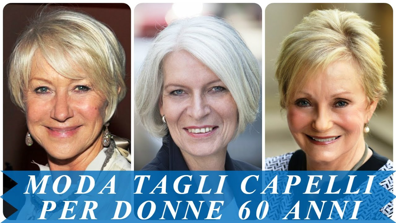 Capelli corti 2019 donne over 60
