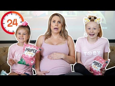 24 HOURS iN CiNEMA CHALLENGE WiTH PREGNANT MUM! 🤰🍿