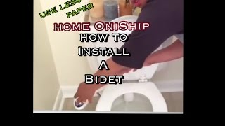 Toilet Seat Bidet: Hit the loo the Onified way