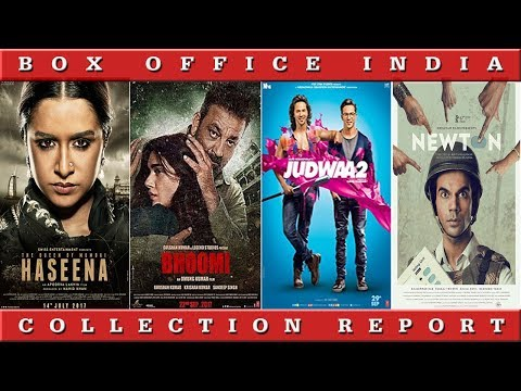 Box Office Collection Of Judwaa 2, Bhoomi, Newton, Haseena Parkar | Box Office India