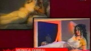 Mónica Corral como la Maja de Goya (Susana Giménez TV Argentina)