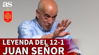 SELECCIÓN | JUAN SEÑOR cuenta el origen de su gol en el ESPAÑA 12 - MALTA 1 | Diario AS