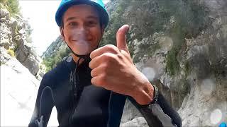 Canyon du Gours du Ray avec Libertagrimpe