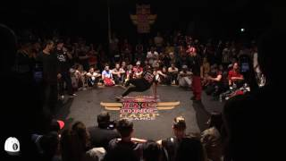 Pac Pac & Nabster vs Bruce Wayne & Yung 2vs2 | Finale Red Bull BC One Camp 2017 | Hip Hop Corner