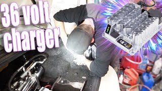 My shop is falling apart and I'm Installing a Delta-Q charger! - the White Rider series #66