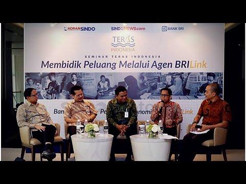 Membangun Ekonomi Daerah Lewat Teras Indonesia Bersama BRILink