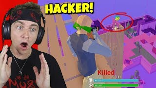 i found a hacker in strucid fortnite zone wars... (so bad)