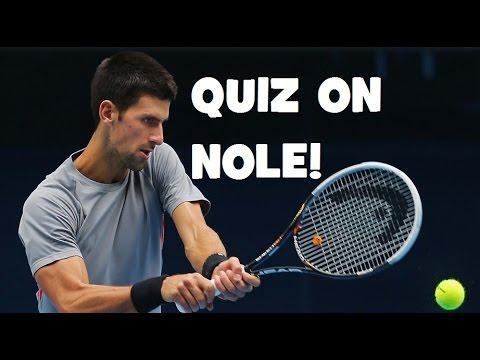 Hardest Quiz on Novak Djokovic! | ATP Finals London 2016