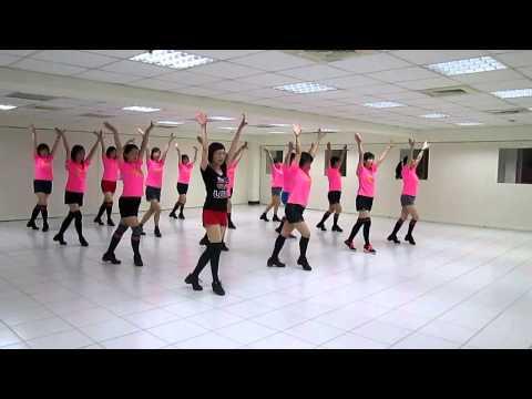 Dong Tina Li De  Yi Ba Hao冬天裡的一把火 Linedance